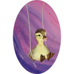 [4/7] Duckling on swing painting