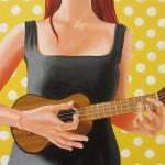 [5/7] Playing the ukulele painting