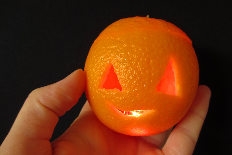 orange light diy magical daydream