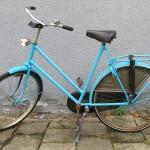 Bike spray paint makeover