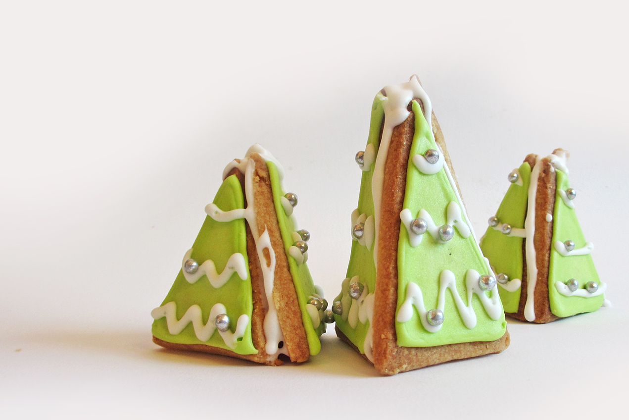 How To Make 3d Christmas Tree Cookies Magical Daydream