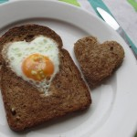 A Valentine breakfast idea