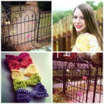 Spread the love: Yarn bombing