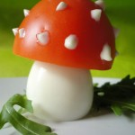 Dress up your salad with a mushroom