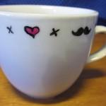Moustache club tea pot