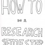 How to do a research semester