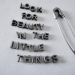 Thursday Thought: Little things