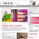 Interview with me in VROUW
