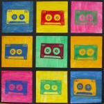 Past project: cassette tape pop-art