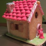 Home-made candy house