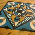 Doodling on the floor: a work in progress