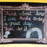 Thursday Thought: Great day