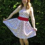 Homemade ladybird dress