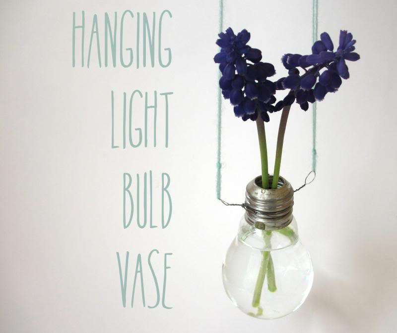 Hanging Light Bulb Vase Magical Daydream
