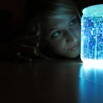 Magical glow stick jar