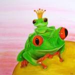 Frog prince painting