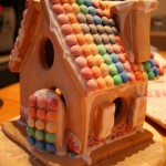 Past project: Gingerbread house