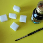 DIY: Decorating sugar cubes