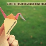 4 Useful tips to design creative business cards