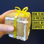 How to make a 3D cookie present filled with a surprise