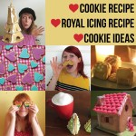 Easy shortbread cookie recipe, how to make royal icing, and fun cookie ideas
