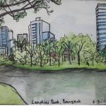 Travel sketches Cambodia