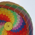 Bucket list: fly a hot air balloon (Vang Vieng, Laos)