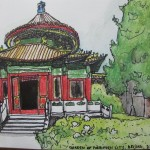 Travel sketches China