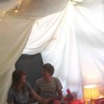 Birthday Blanket Fort