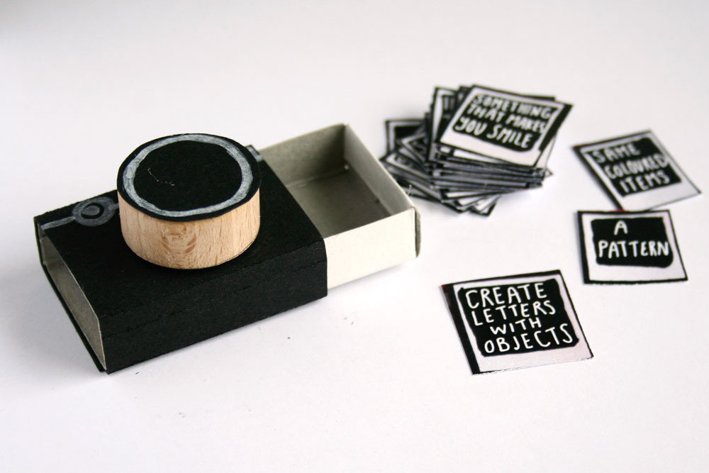 Gift Idea Matchbook Camera With Picture Prompts Magical Daydream