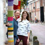 Yarn Bomb Street Art Project Bergstraat
