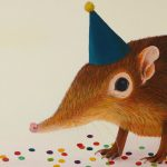 Elephant Shrew Painting