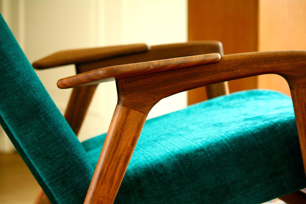 refurbish Yngve Ebstroom Ruster Lounge Chair